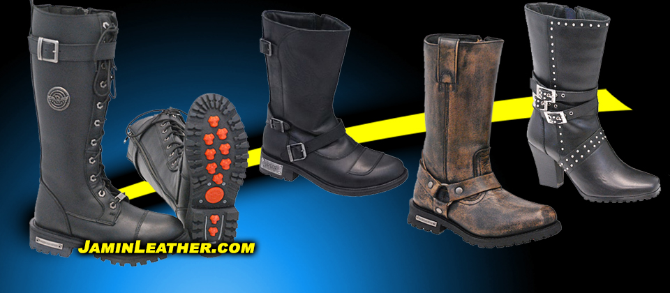 Leather Boots for Men & Women